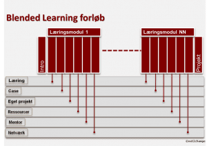 blended learning forløb